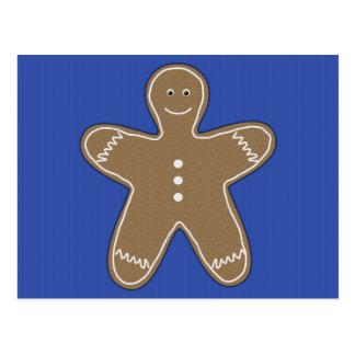 biscoito do pão-de-espécie cartoes postais