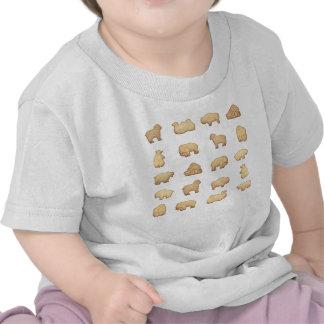 Biscoitos animais tshirt
