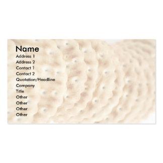 Biscoitos Cartão De Visita
