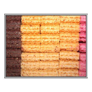Biscoitos da bolacha do açúcar modelos de panfleto