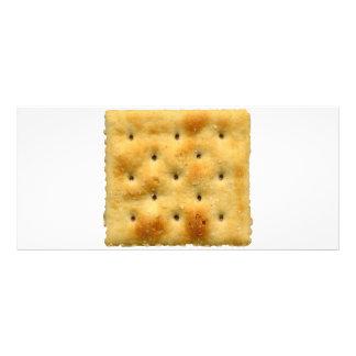 Biscoitos de soda brancos do Saltine 10.16 X 22.86cm Panfleto