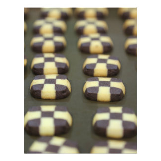 Biscoitos do chocolate flyer 21.59 x 27.94cm