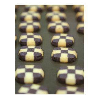 Biscoitos do chocolate panfleto personalizados
