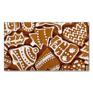 Biscoitos do feriado do pão-de-espécie do Natal