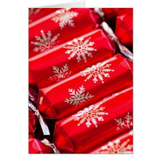 Biscoitos do Natal Cartão Comemorativo