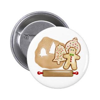 Biscoitos do Natal do cozimento Boton