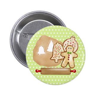 Biscoitos do Natal do cozimento Pins