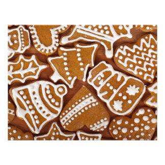 Biscoitos do Natal Panfleto Personalizados