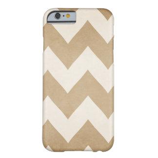 Biscotti & caso do iPhone 6 de Chevron do creme Capa Barely There Para iPhone 6