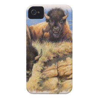 Bisonte alto das planícies capa para iPhone 4 Case-Mate