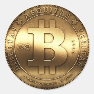 Bitcoin Adesivo