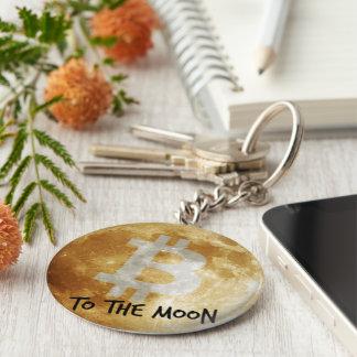 Bitcoin ao chaveiro da lua