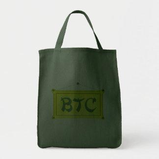 bitcoin schild amarelo bolsa para compra