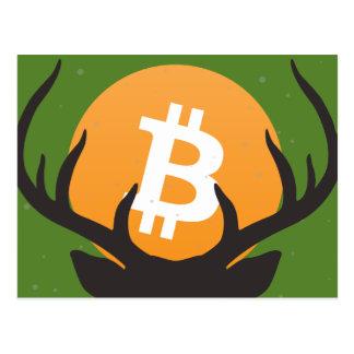 Bitmas alegre! Um cartão do Natal de Bitcoin!
