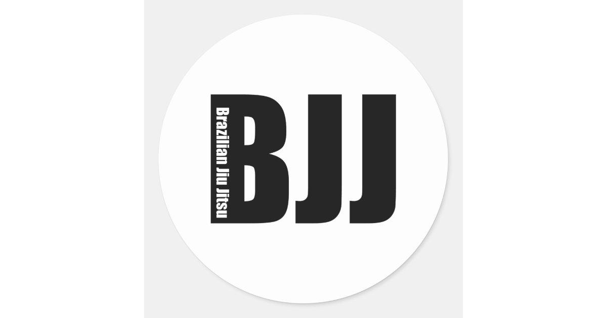 Advance Artesanato Osasco ~ BJJ Brasileiro Jiu Jitsu Adesivo Zazzle