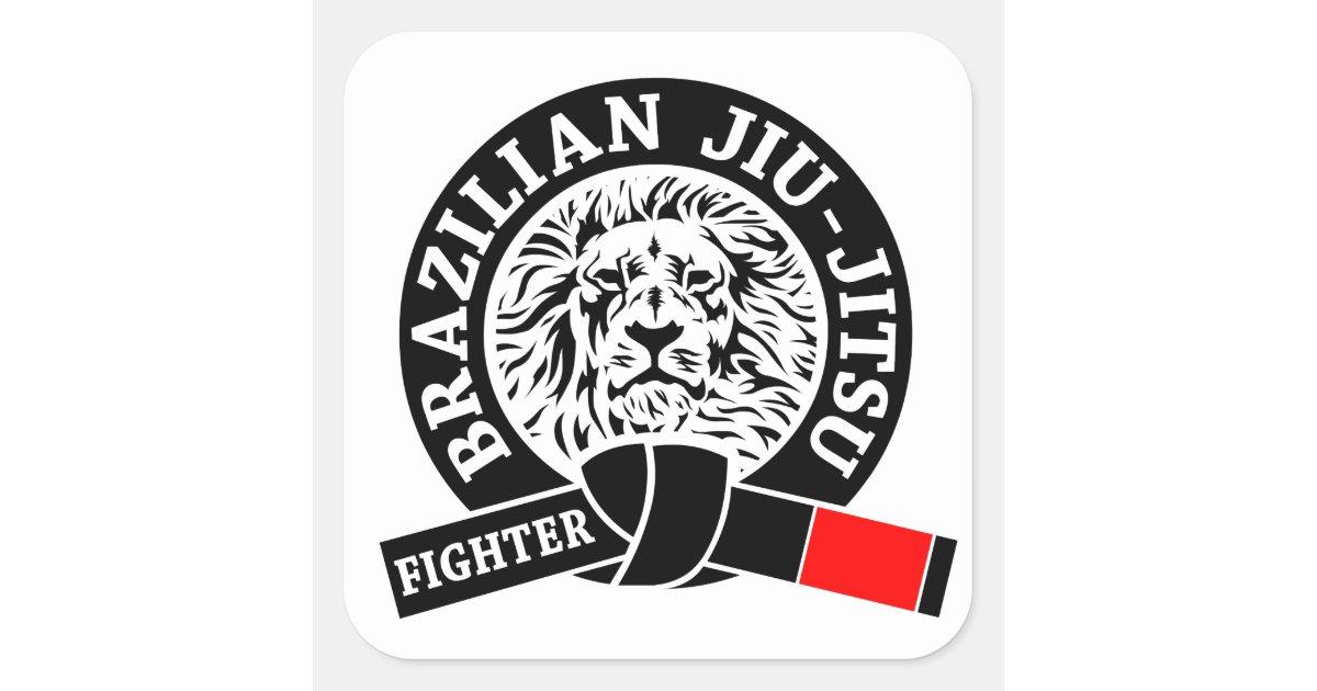 Artesanato Russo Em Sp ~ BJJ Brasileiro Jiu Jitsu Adesivo Quadrado Zazzle