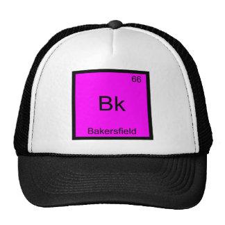 Bk - T do símbolo do elemento da química da cidade Boné