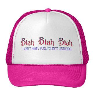 Blá - chapéu blá boné