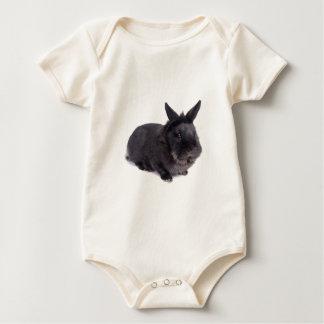 black rabbit macacãozinhos para bebê