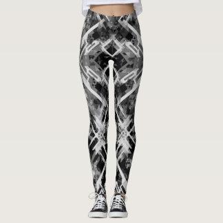 Black&White Legging geométrico