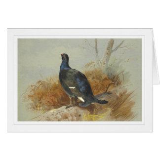 Blackcock Cartão Comemorativo
