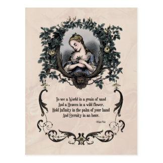 """Blake """"para ver cartão do Victorian de um mundo"""""""