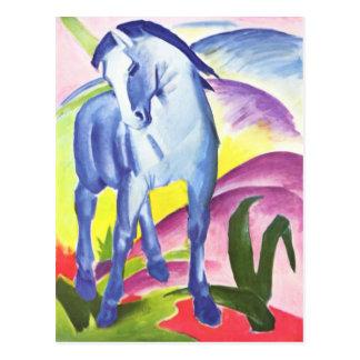 Blaues Pferd mim pelo cartão de Franz Marc