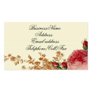 Blenheim aumentou, marfim cartões de visitas