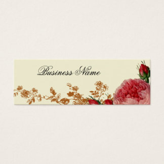 Blenheim aumentou, marfim, cartão de visitas mini