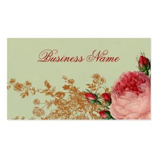Blenheim aumentou - verde prudente elegante cartão de visita