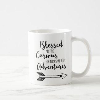 Blessed é a caneca de café curiosa com mapa do