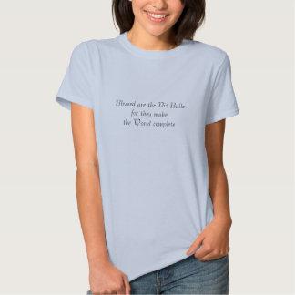 Blessed é o tshirt dos pitbull