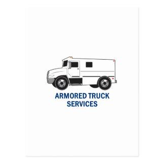 Blindado Caminhão Empresa Cartao Postal