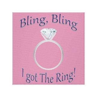 Bling, Bling eu obtive o anel! Impressão das