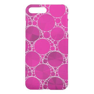 Bling cor-de-rosa fluorescente capa iPhone 7 plus