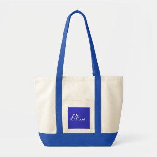 Blisse em azul e no branco III Bolsa Para Compras
