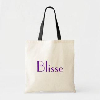Blisse em I preto e branco Bolsas Para Compras