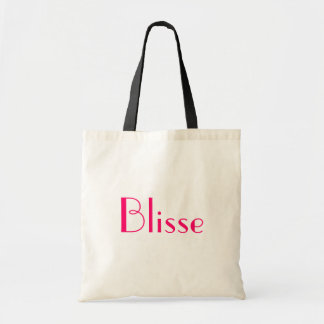 Blisse em preto e branco bolsa para compras