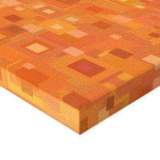 Bloco acima da laranja impressão em canvas