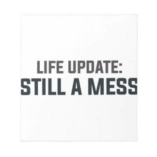 Bloco De Anotação Actualização da vida: Ainda uma confusão