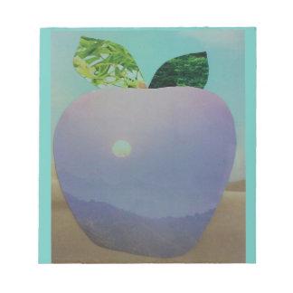 Bloco De Anotação Almofada de nota da visão do 🍎 de Apple