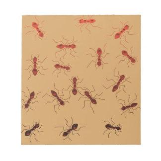 Bloco De Anotação Antics. da formiga