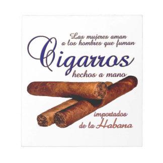 Bloco De Anotação Cigarros - Cirars