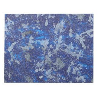 Bloco De Anotação Cosmos azul #3