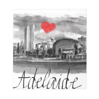 Bloco De Anotação Eu amo Adelaide