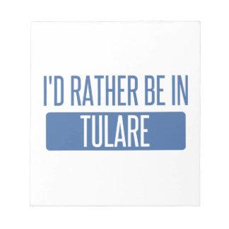 Bloco De Anotação Eu preferencialmente estaria em Tulare