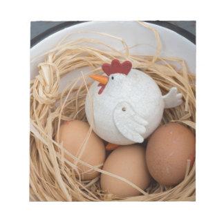 Bloco De Anotação Galinha & ovos