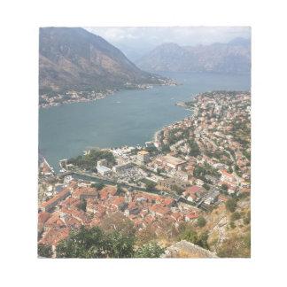 Bloco De Anotação Kotor, Montenegro