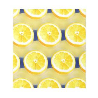 Bloco De Anotação Limonada
