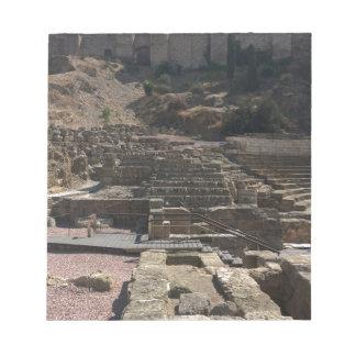 Bloco De Anotação Malaga; anfiteatro